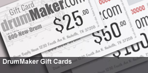 Drummaker Gift Cards