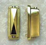 Lug- Bow Tie SN Dbl -BRASS