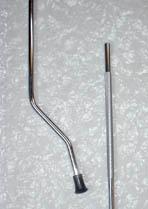 Floor Tom Leg Standard 9.5mm  -Set of 3