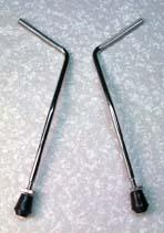Baby Kick Spurs - Steel hoop type PAIR LEGS ONLY 10.5mm